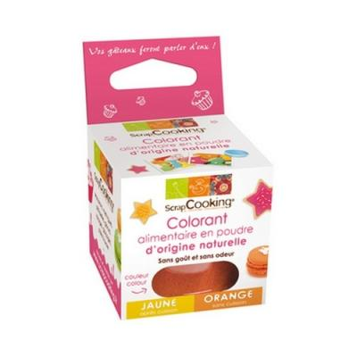 Image du produit Scrapcooking Colorant alimentaire naturel orange 4205