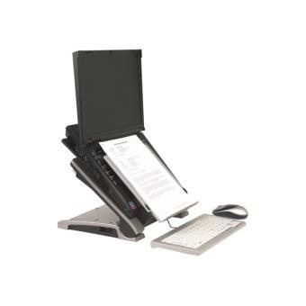 Bakker elkhuizen ergo t 340 support pour ordinateur portable avec porte documents achat - Porte ordinateur portable ...