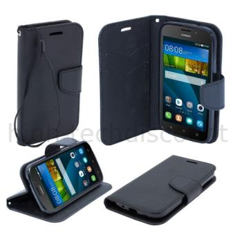 Housse etui coque pochette portefeuille pour huawei ascend for Housse huawei y5