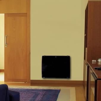 panneau rayonnant galbe verre. Black Bedroom Furniture Sets. Home Design Ideas