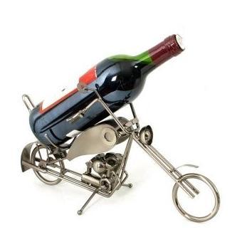 Porte bouteille m tal moto achat prix fnac for Porte 6 bouteilles metal