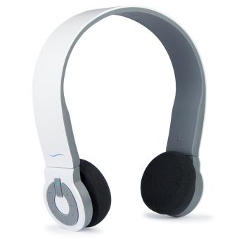 hi fun hi edo casque audio bluetooth pour smartphone et iphone blanc mat achat prix fnac. Black Bedroom Furniture Sets. Home Design Ideas