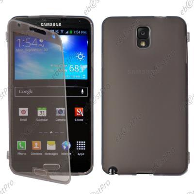 mp ebestStar pour Samsung Galaxy Note  GT N Housse Etui Coque Portefeuille Livre Silicone Gel Film protection d ecran Couleur Noir w