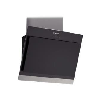 hotte d corative inclin e noir bosch dwk06g660 achat prix fnac. Black Bedroom Furniture Sets. Home Design Ideas