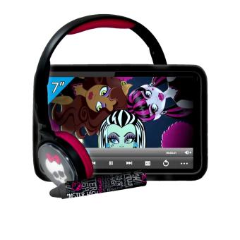 ingo mhu014d pack tablette tactile avec stylet casque et protection silicone monster high. Black Bedroom Furniture Sets. Home Design Ideas