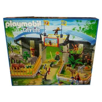 playmobil 5921 grand zoo avec les bebes animaux pla 5921. Black Bedroom Furniture Sets. Home Design Ideas