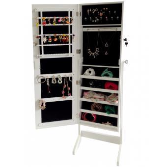 armoire bijoux avec miroir achat prix fnac. Black Bedroom Furniture Sets. Home Design Ideas