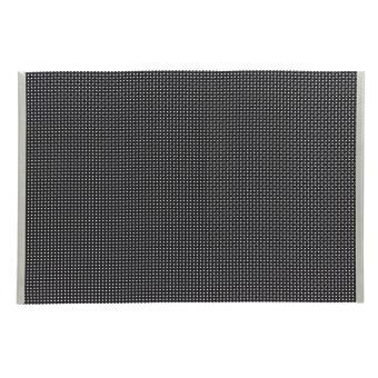 set de table vinyl noir 6317710 r ception lot de 12. Black Bedroom Furniture Sets. Home Design Ideas