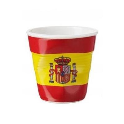 Image du produit 6 tasses froissées expresso drapeau Espagne Revol 8 cl