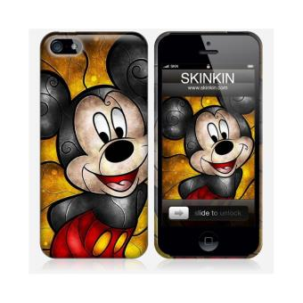coque iphone 5 et 5s de chez skinkin design original mickey par mandie manzano achat. Black Bedroom Furniture Sets. Home Design Ideas