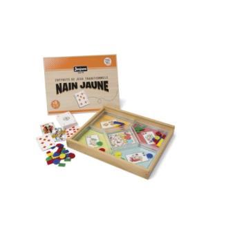 jeujura 8138 jeu de plateau jeu du nain jaune coffret en bois achat prix fnac. Black Bedroom Furniture Sets. Home Design Ideas