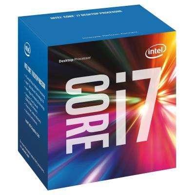 Intel i7-6700, Core. Famille de processeur Intel Core i7-6xxx, Fréquence du processeur 3,4 GHz, Socket de processeur (réceptable de processeur) LGA1151. Maximum RAM supportée 64 Go, Types de mémoire pris en charge DDR3L-SDRAM, DDR4-SDRAM, Prise en charge