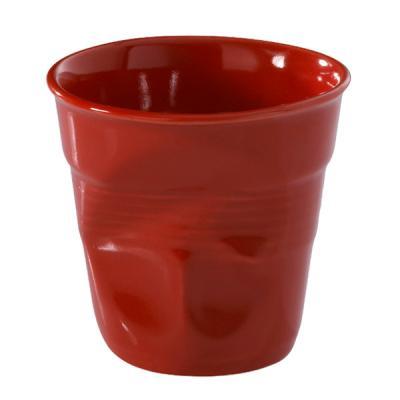 Image du produit 6 Tasses café froissées Rouge piment Revol 12 cl