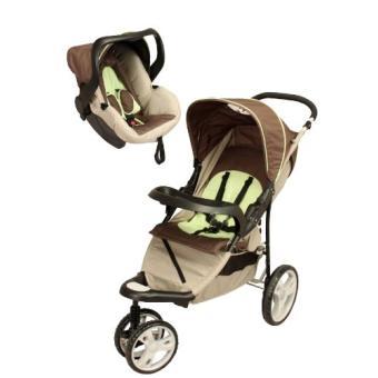bambisol ts292t combin poussette 3 roues surfy jasmin achat prix fnac. Black Bedroom Furniture Sets. Home Design Ideas