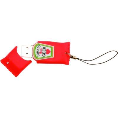 Craquez pour une clé USB au look détourné avec une capacité de 8GO. Etes-vous tomato geek ?