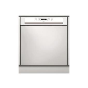 lave vaisselle avec bandeau whirlpool wrbc3c24p achat prix fnac. Black Bedroom Furniture Sets. Home Design Ideas
