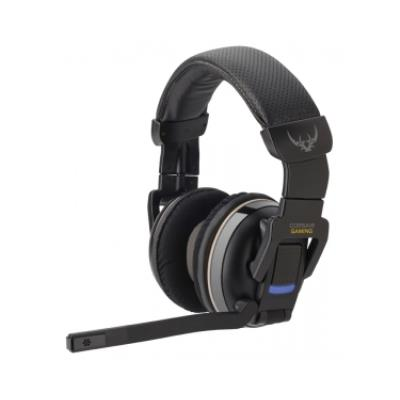 Corsair H2100. Convient pour PC Jeux, Canaux de sortie audio 7.1, Consommation de courant 500 mA. Type de casque Binaural, Style de casque portable Bandeau, Couleur Noir, Gris. Interface de lappareil RF Wireless + USB, La connectivité des périphériques Av