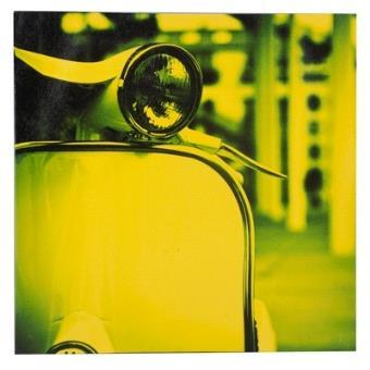 Tableau d coration vespa ann es 60 mod le jaune for Decoration murale annee 60