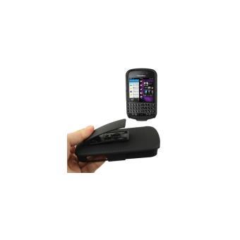 Blackberry q10 coque housse de protection plastique noir for Housse blackberry q10