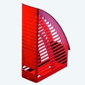 herlitz porte revues format a4 avec plastique rouge top prix fnac. Black Bedroom Furniture Sets. Home Design Ideas