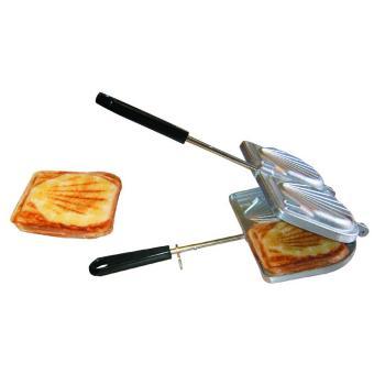 Toaster croque monsieur en fonte d 39 aluminium bonareva - Sachet cuisson croque monsieur grille pain ...