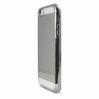 coque gel chrome argent pour iphone se achat prix fnac. Black Bedroom Furniture Sets. Home Design Ideas