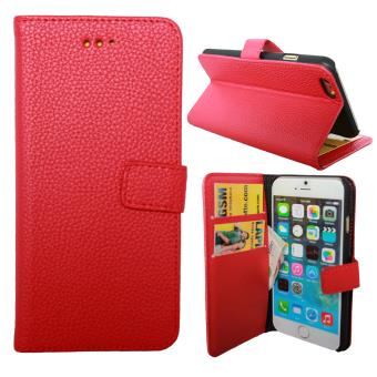 etui housse coque portefeuille iphone 6 rouge achat prix fnac. Black Bedroom Furniture Sets. Home Design Ideas