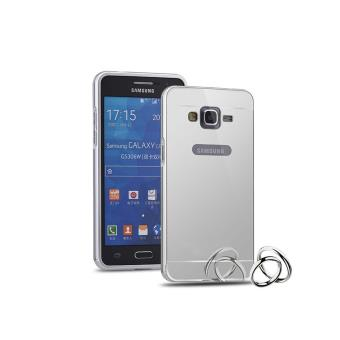 Coque samsung galaxy grand prime g530 bumper miroir housse for Miroir tv samsung