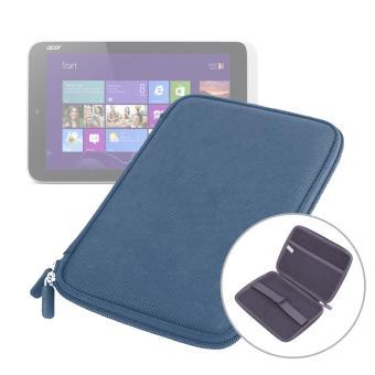 etui coque bleu rigide de protection pour tablette acer w3. Black Bedroom Furniture Sets. Home Design Ideas
