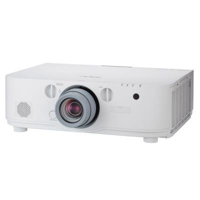 NEC PA572W. Luminosité du projecteur 5700 ANSI lumens, Technologie de projection LCD, Résolution native du projecteur WXGA (1280x800). Durée de vie de la lampe 3000h, Puissance de la lampe 330W, Type de lampe UHP. Mise au point Manuel. Système de format d