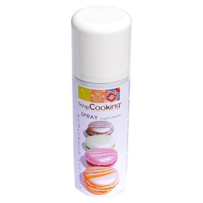 Image du produit Scrapcooking Spray colorant argent 4002