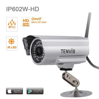 Votre foyer en toute sécurité ! Cette caméra d´extérieur waterproof vous permettra de surveiller votre maison en live, prendre des photos, enregistrer des vidéo en live, et de recevoir des alertes avec photos ou vidéo via la détection de mouvement, ceci d
