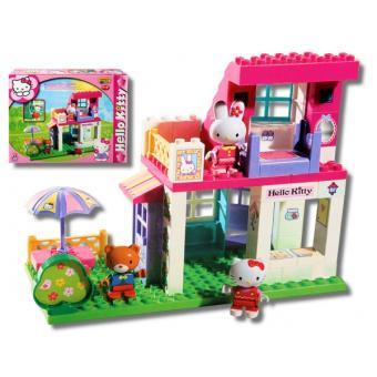 Jeu De Construction Maison Villa Hello Kitty Avec