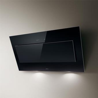 hotte cuisine elica murale vertigo verre noir 120 cm achat prix fnac. Black Bedroom Furniture Sets. Home Design Ideas
