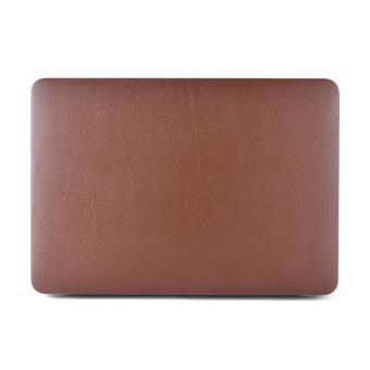 coque rigide pour macbook air 13 3 pouces marron achat prix fnac. Black Bedroom Furniture Sets. Home Design Ideas