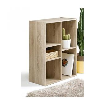 compo cube de rangement 5 cases coloris chene achat prix fnac. Black Bedroom Furniture Sets. Home Design Ideas