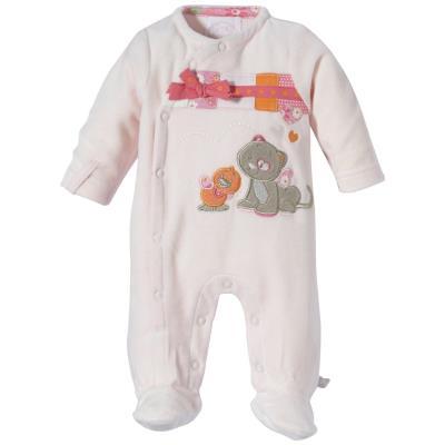 Pyjama 1m iris et babette rose pâle pour 88€