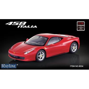 voiture radiocommand e ferrari 458 italia rouge 1 14 achat prix fnac. Black Bedroom Furniture Sets. Home Design Ideas