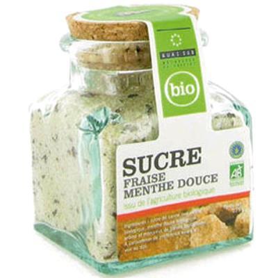 Image du produit Sucre aromatisé à la menthe douce bio