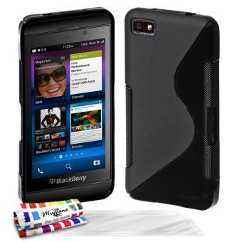 Coque souple originale ultra fine noir le s premium de for Photo ecran blackberry z10