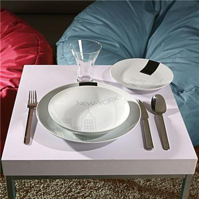 service de table myk 18 pieces new york