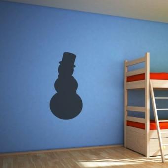bonhomme de neige repositionnable ardoise chambre chambre. Black Bedroom Furniture Sets. Home Design Ideas