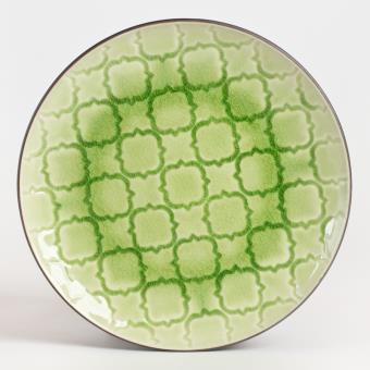 table passion assiette dessert craki vert 20 cm lot de 6 achat prix fnac. Black Bedroom Furniture Sets. Home Design Ideas