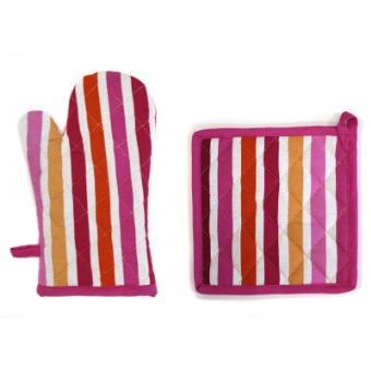 gant manique de cuisine sardinades rose achat prix fnac. Black Bedroom Furniture Sets. Home Design Ideas