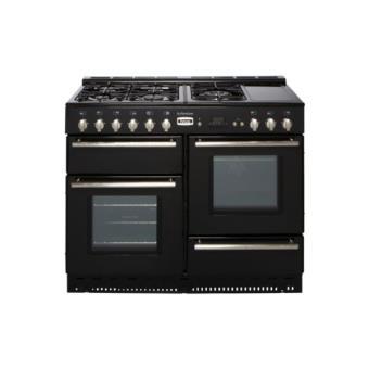 Piano de cuisson falcon arleston 110 noir mat achat - Piano de cuisson noir ...