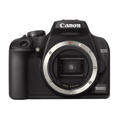 Équipé d´un capteur CMOS 10,1 millions de pixels et de la technologie héritée des modèles Canon EOS professionnels, l´EOS 1000D donne accès à la puissance EOS en matière d´image grâce à un boîtier simple d´utilisation et de prix très abordable.