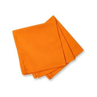 lot de 3 serviettes de table alix orange achat prix fnac. Black Bedroom Furniture Sets. Home Design Ideas