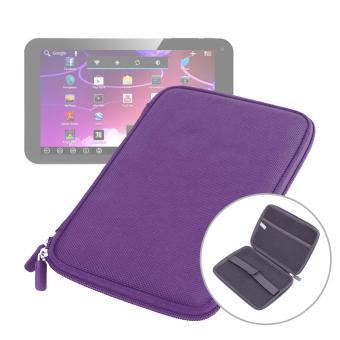 etui coque violet rigide de protection pour tablette tactile 10gibox android 4 0 achat prix. Black Bedroom Furniture Sets. Home Design Ideas