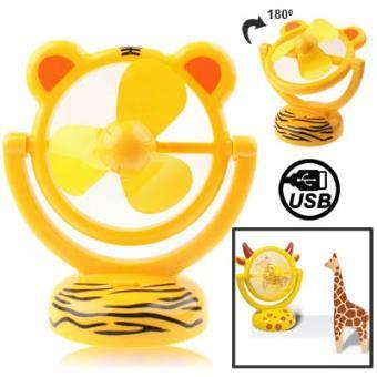 mp Tiger Style Mini Ventilateur USB Piles rotatif a  degres w