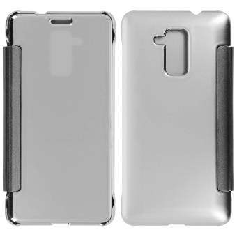Housse folio miroir honor 5c ultra fin argent achat for Housse honor 5c